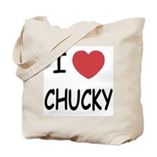 I heart CHUCKY Tote Bag