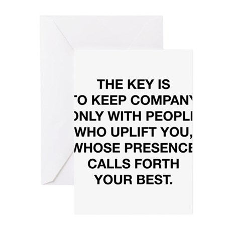 People Who Uplift You Greeting Cards (Pk of 20)