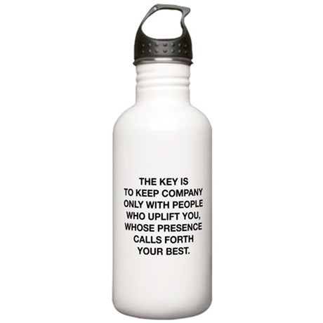 People Who Uplift You Stainless Water Bottle 1.0L