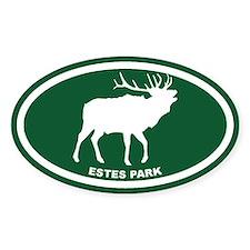 Estes Park Green Elk Decal