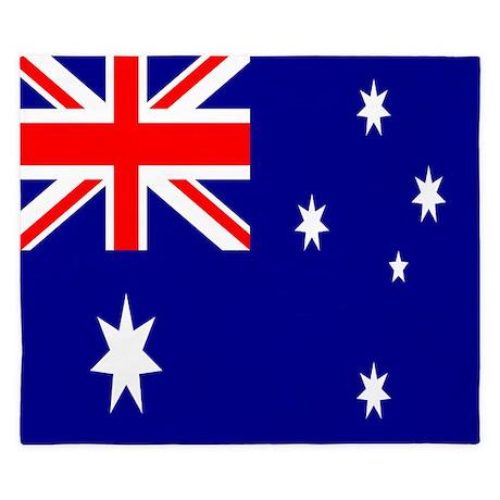 Australia Flag King Duvet