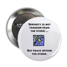 """Serenity and the Storm 2.25"""" Button (10 pack)"""