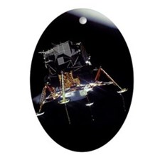 Lunar Module Oval Ornament