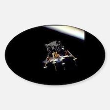 Lunar Module Oval Decal