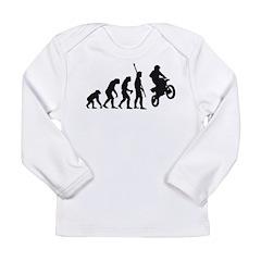 evolution motocross Long Sleeve Infant T-Shirt