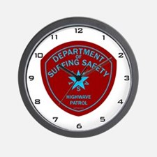 TEXAS HWP Wall Clock