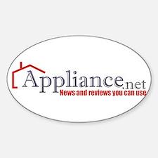 Appliance . NET Oval Decal