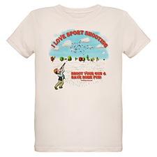 I Love Sport Shooting T-Shirt