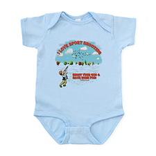 I Love Sport Shooting Infant Bodysuit
