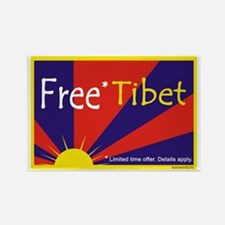 Free* Tibet Rectangle Magnet (10 pack)