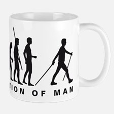 evolution nordic walking Mug