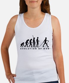 evolution nordic walking Women's Tank Top