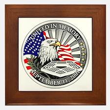 9/11 Memorial Framed Tile
