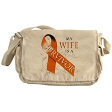 My Wife is a Survivor Messenger Bag