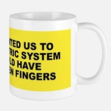 God and Metric System Mug