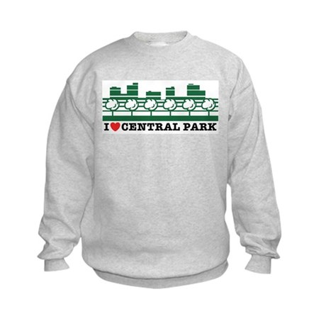 I Love Central Park Kids Sweatshirt