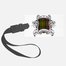 Carnegie Tartan Shield Luggage Tag