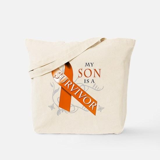 My Son is a Survivor Tote Bag