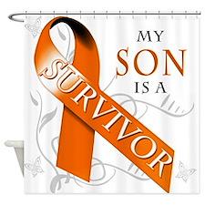 My Son is a Survivor Shower Curtain