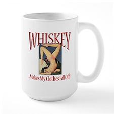 Whiskey...Clothes Fall Off Mug