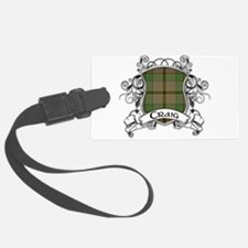 Craig Tartan Shield Luggage Tag