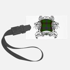 Davidson Tartan Shield Luggage Tag
