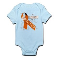 My Husband is a Survivor Infant Bodysuit