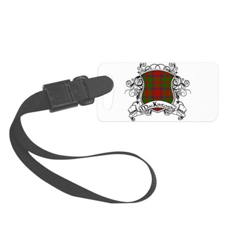 MacKintosh Tartan Shield Small Luggage Tag