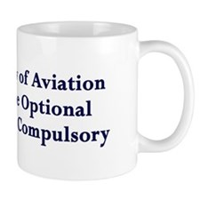 Landings Are Compulsory Coffee Mug