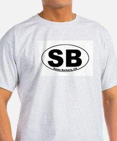 SB (Santa Barbara)  Ash Grey T-Shirt