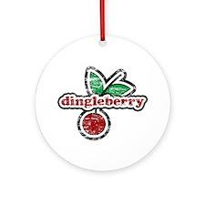 Dingleberry Ornament (Round)