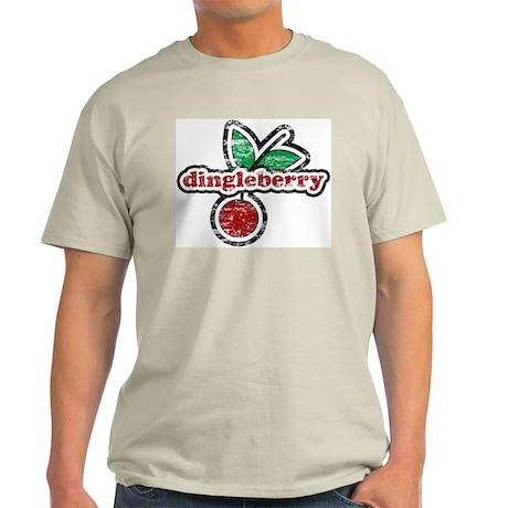 Dingleberry Ash Grey T-Shirt
