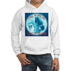 I FELL IN LOVE ON PLANET OF THE DOGS Hoodie