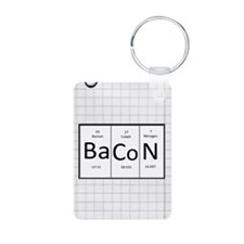 Periodic Bacon Keychains