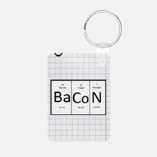 Periodic Bacon Keychains