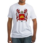 Jez Coat of Arms Fitted T-Shirt
