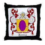 Janina Coat of Arms Throw Pillow
