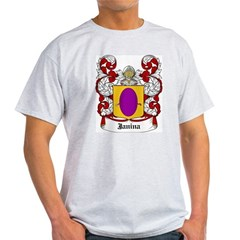 Janina Coat of Arms Ash Grey T-Shirt