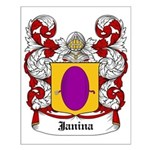 Janina Coat of Arms Small Poster