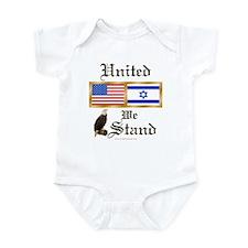 US & Israel United Infant Creeper
