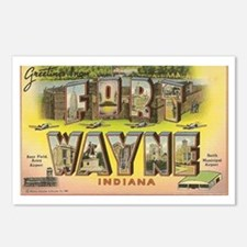 Fort Wayne Indiana Postcards (package Of 8)