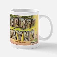 Fort Wayne Indiana 11 Oz Mug Mugs