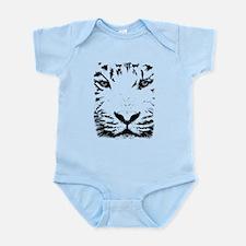 White Tiger for White Infant Bodysuit