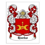 Hurko Coat of Arms Small Poster