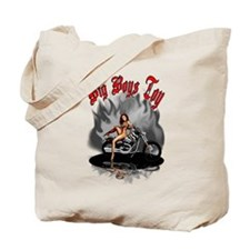 Big Boys Toy Tote Bag
