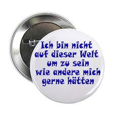 Nicht auf dieser Welt blue 2.25'' Button (10 pack)