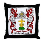 Holowinski Coat of Arms Throw Pillow