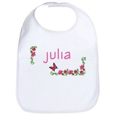 Butterfly & Flowers Julia Bib