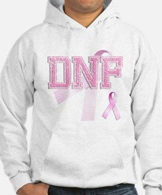 DNF initials, Pink Ribbon, Hoodie