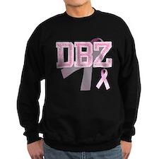 DBZ initials, Pink Ribbon, Sweatshirt